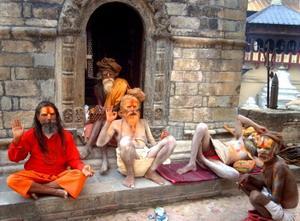 Men in Nepal