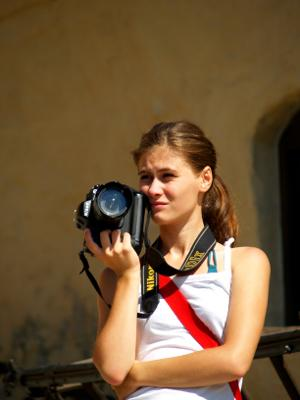 Vol with a camera in Romania