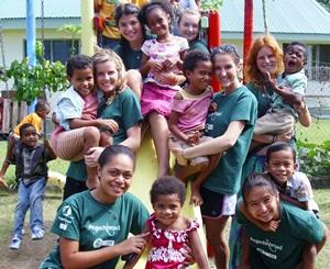 Volunteering in a Community Village in Fiji with Projects Abroad