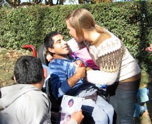 Voluntaria en un Centro para Niños con Necesidades Especiales