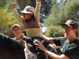 Volunteer Horses and Children in Bolivia with Projects Abroad