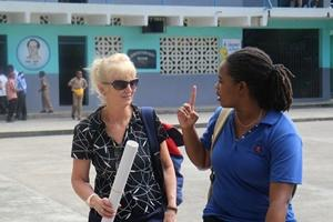 Participantes en el Proyecto con VIH/Sida en Jamaica