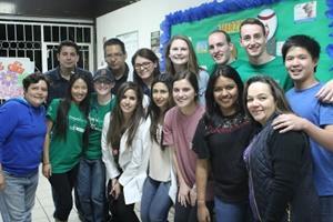 Grupo de voluntarios de Projects Abroad Public en México
