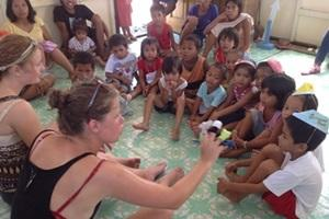 Volunteer Work with Children in the Philippines