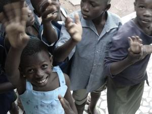 Voluntariado con niños en Togo