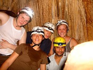 Environmental volunteers in Costa Rica