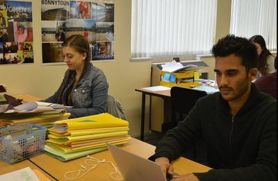 Voluntarios en Oficina de Derechos Humanos en Sudáfrica