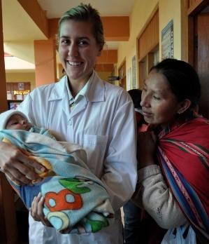 Medical outreach in Peru