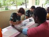 Voluntaria del proyecto de Salud Publica en Sri Lanka