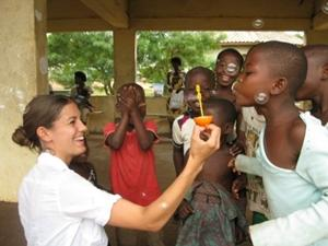 Voluntary projects in Social Work in Ghana