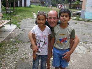 Volunteer social worker in Romania