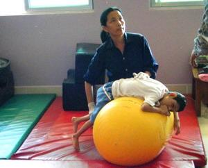 Physiotherapy volunteer in Cambodia