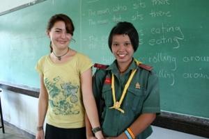Voluntary work as a teacher in Thailand