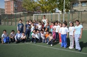 School Sports Volunteer